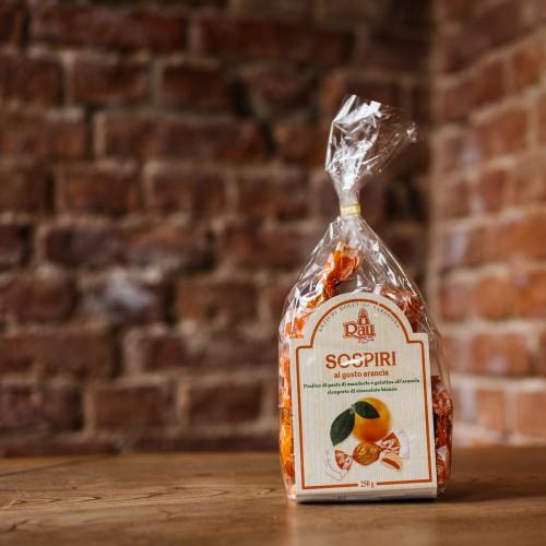 Sospiri Mandel-Orangenpralinen
